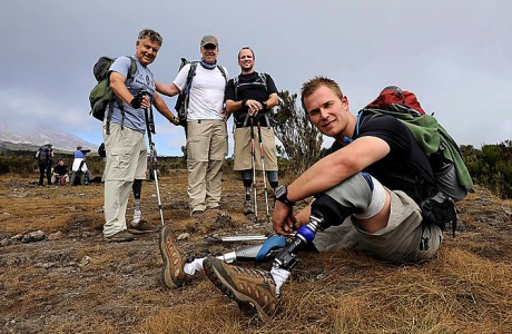 Килиманджаро покорилась воинам