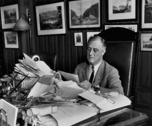 Франклин Делано Рузвельт: Лень, как ржавчина, разъедает быстрее, чем труд изнашивает