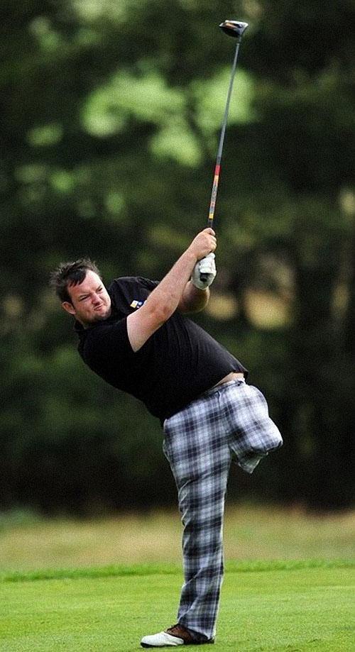 первое знакомство с гольф 4