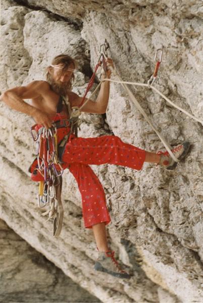 На фотографии: Юрий уже после травмы, фото сделано в 1996 г. Дмитрием Гуренко.