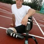 Спортсмен без ног примет участие в ЧМ-2011 по легкой атлетике.