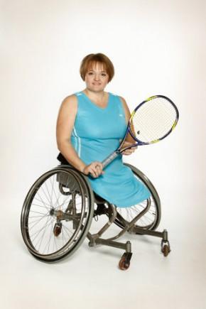 Бахматова Наталья многократная чемпионка России и мира по теннису на колясках, инструктор в фитнес-центре