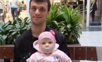 На фото Беслан с дочерью