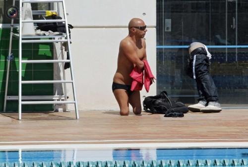 Тренировки спортсменов-паралимпийцев
