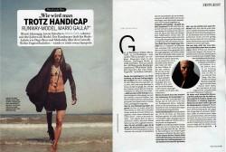 Марио Галла: Твёрдой поступью