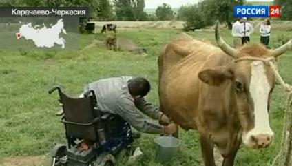 В Карачаево-Черкесии инвалид смог стать фермером
