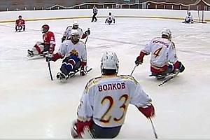 """Москомспорт представляет документальный фильм """"Жить"""", рассказывающий о следж хоккее."""