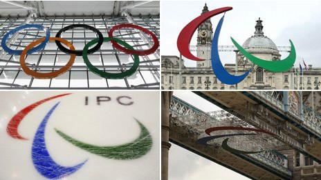 """Вместо олимпийских колец - """"агито"""""""