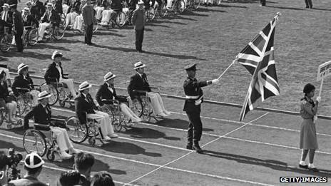 Британская сборная на Паралимпийских играх 1964 года в Токио