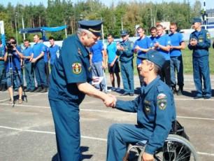 В числе лучших сотрудников МЧС — пятеро с ограниченными физическими возможностями