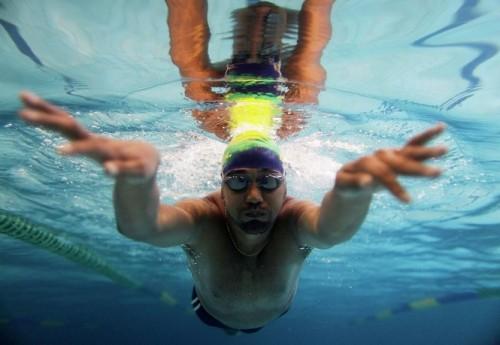 На фото: Тони Кордейро во время тренировки.