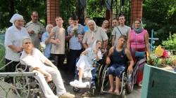 Инвалиды путешествуют по святым местам Тамбовщины