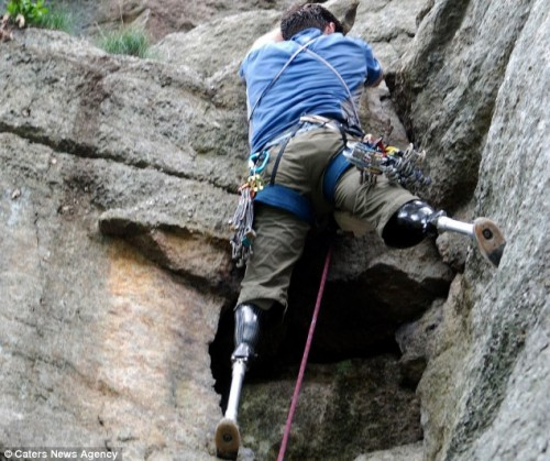Хью Херр: Неугомонный скалолаз из Массачусетса