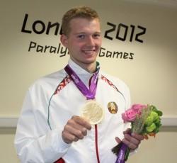Белорусский пловец Игорь Бокий завоевал четвертое «золото» на Паралимпиаде-2012