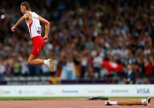 Соревнования в секторе прыжков в высоту