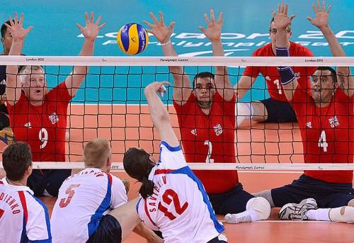 Российская сборная по волейболу сидя - бронзовый призер предыдущих игр в Пекине