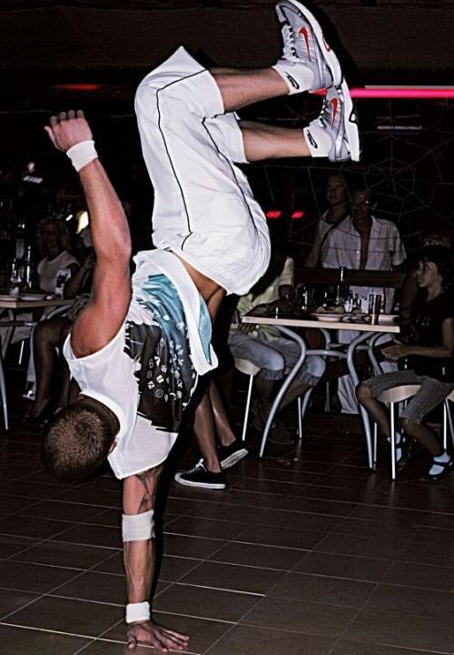 © Фото из архива Евгения Смирнова Главная трудность в тренировках для Жени - поймать равновесие
