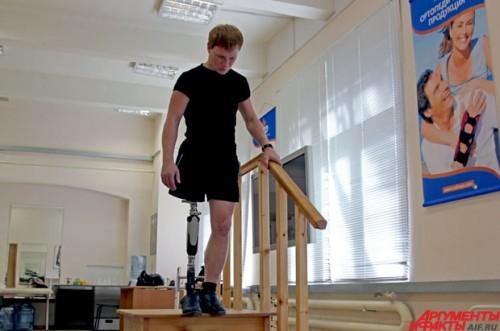 Шаг вперед: потерявший ногу танцор вернется к выступлениям