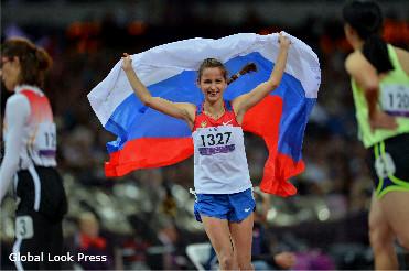 Паралимпиада 2012. Медальный зачет