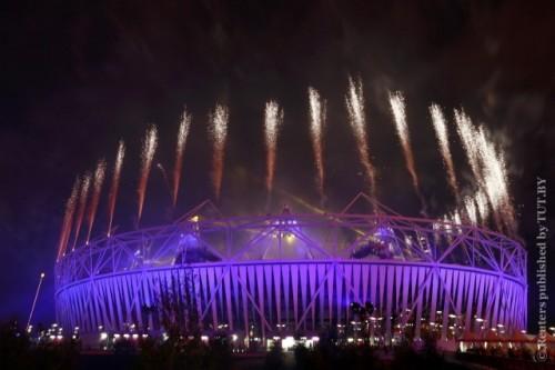"Паралимпиада в Лондоне завершилась ""Фестивалем огня"""