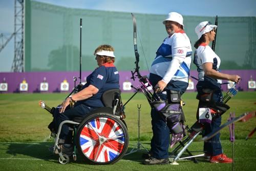 Британские лучницы готовятся к соревнованиям