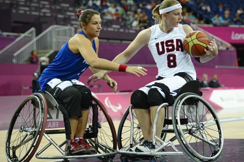 Соревнования по женскому баскетболу