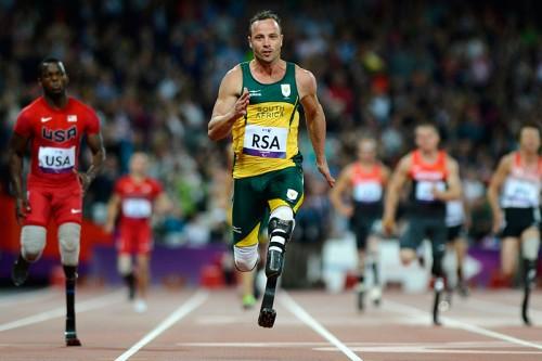 Знаменитый бегун из ЮАР Оскар Писториус