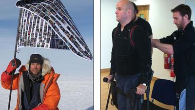 Марк Поллок проходит подготовку к 10-дневной экспедиции (фото: dailymail.co.uk)