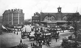 Станция «Кингс кросс». Лондон