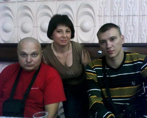 Костя,Вова и я