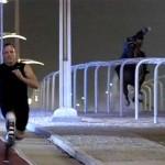 Чемпион Паралимпиад Оскар Писториус обогнал арабского скакуна
