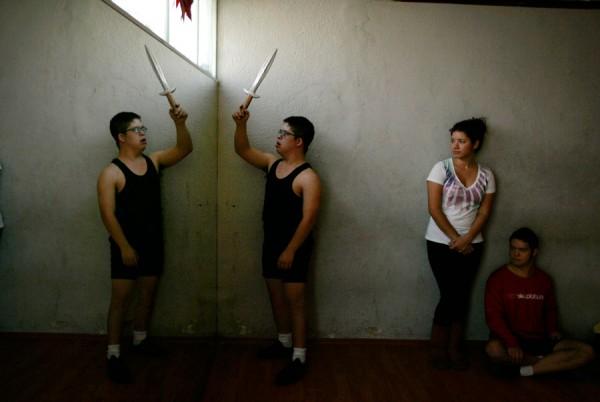Люди с ограниченными возможностями станцевали балет «Щелкунчик»