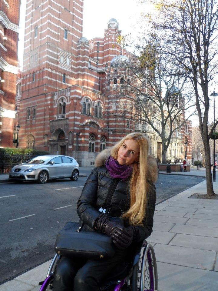 Женя в Лондоне