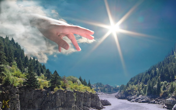 В руках у Бога