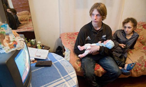 Самая маленькая украинка и её дочь