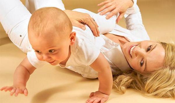 Двигательное развитие вашего ребёнка