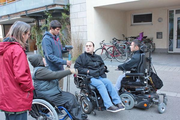 «Брать и отдавать»: Владимир Рудак снял фильм c участием людей с инвалидностью