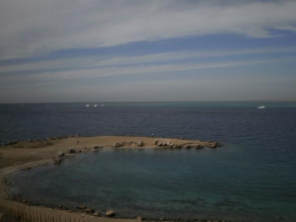 Вид на Красное море.