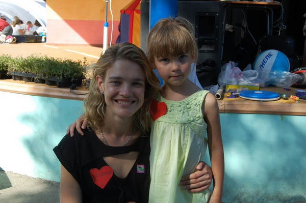 Наталья Водянова: «От детей я совсем не устаю»