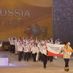 Российская делегация на церемонии открытия Всемирных зимних игр Специальной Олимпиады. 29 января, г. Пьёнчхан (Республика Корея). Фото: www.flickr.com