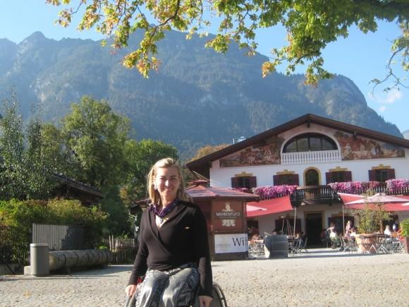 Анна Горчакова. И всегда нравятся деревни Баварии