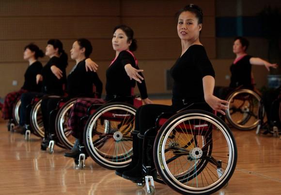 Танцы на колясках в Китае