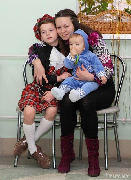Фото из семейного архива Елена Бадытчик знает, что она счастлива благодаря Владику