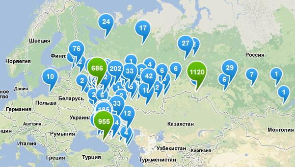 Карта доступности теперь доступна каждому