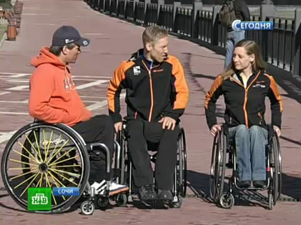 Российские паралимпийцы обкатали Красную Поляну