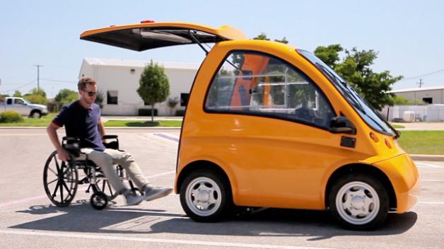 Kenguru – лучший автомобиль для инвалида-колясочника