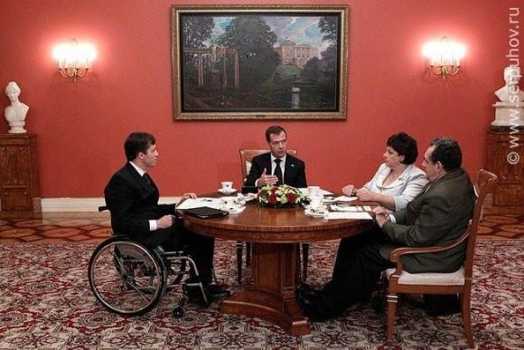 Встречу Татьяны Владимировны Карзубовой с Президентом России транслировали по центральному каналу телевидения