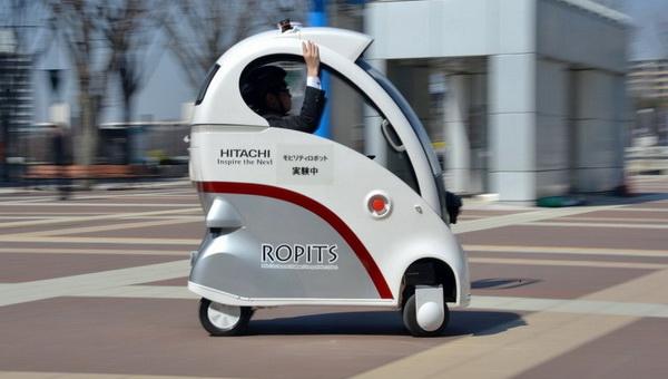 Hitachi ROPITS — транспорт будущего