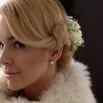 Евгения Воскобойникова вышла в эфир с собственной свадьбы