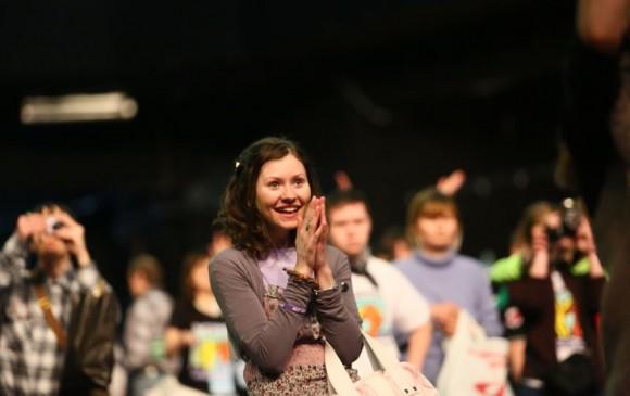 """В Москве прошел танцевальный марафон """"Лучшие друзья"""""""